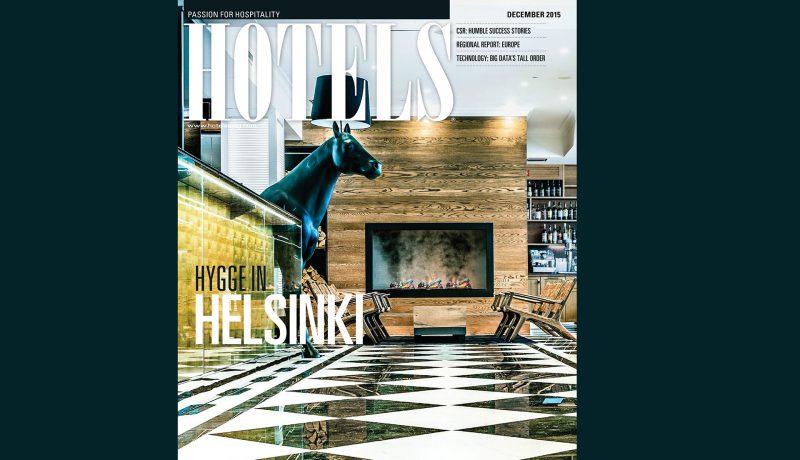 Lilla Roberts Hotels Magazine :n kannessa