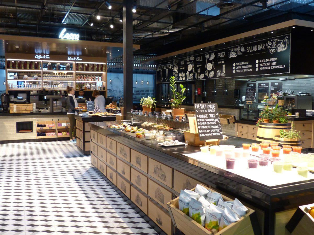 Kolme uutta tyylikästä ravintolaa Hki-Vantaan lentokentällä